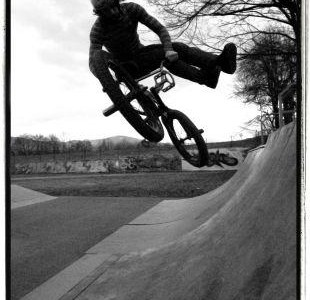 whip in usually dark park