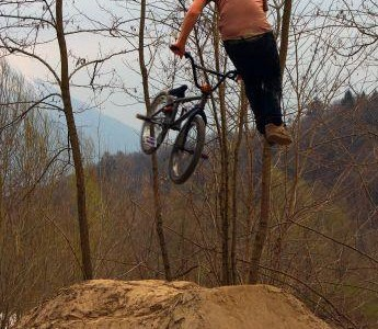 Tailwhip at Piave Trail