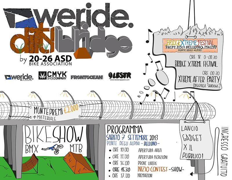 We-Ride Dirty Bridge 7 Settembre 2013
